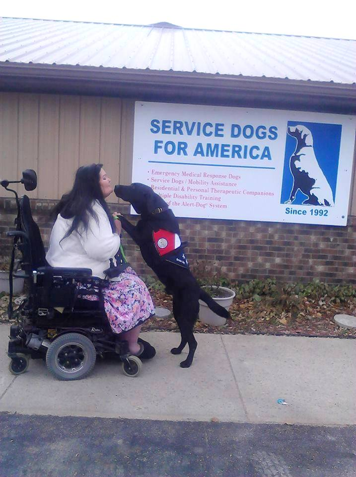 Jud, Caldwell Service Dog is up for a National Hero Dog Award