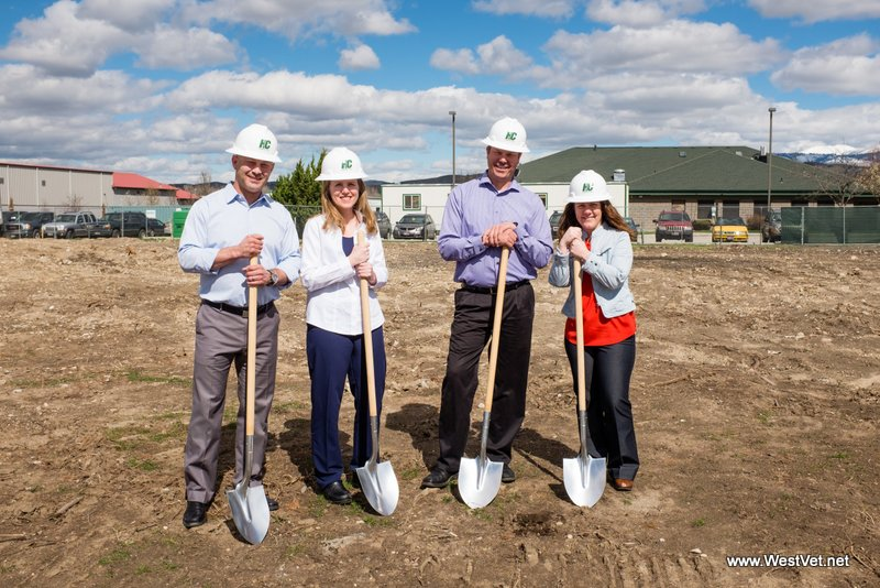 CONSTRUCTION UNDERWAY FOR IDAHO'S MOST ADVANCED ANIMAL HOSPITAL.