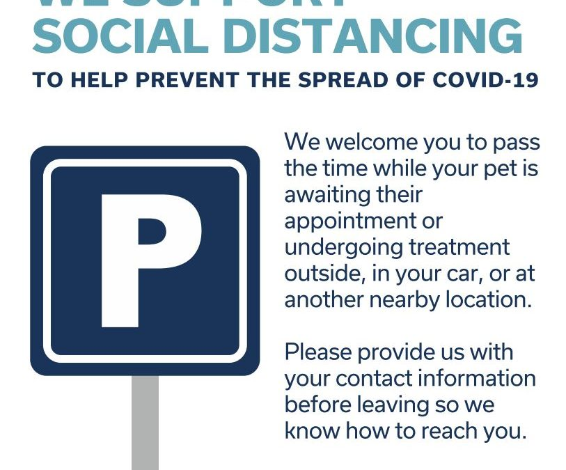 Curbing The Spread Of COVID-19 While Caring For Our Patients